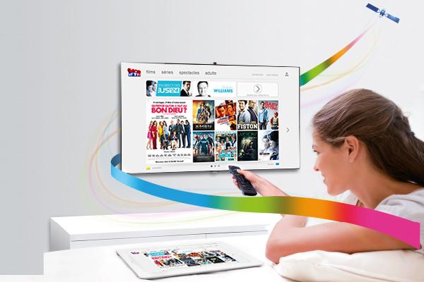 La VOD de MyTF1 est désormais disponible sur le bouquet satellite Fransat