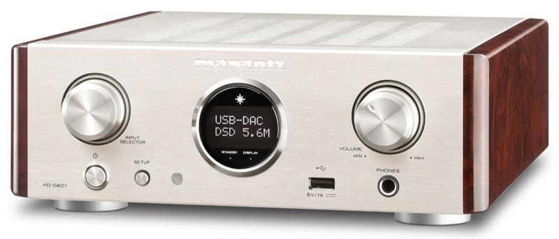 Le DAC ampli asque Marantz HD-DAC1 est aussi bon que beau