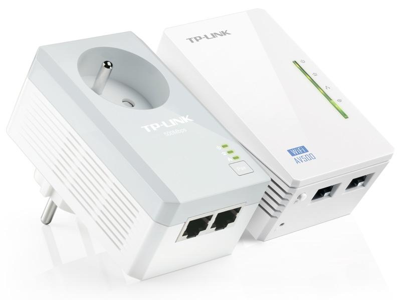 Dans le kit TL-WPA4225, l'un des deux boîtiers CPL est un point d'accès WiFi