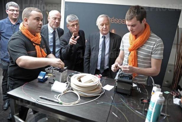 Les apprentis orange du cfa ducretet rh ne alpes l honneur - Cabinet de recrutement rhone alpes ...