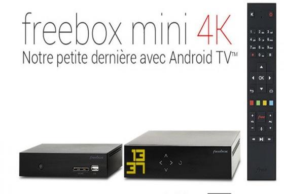 La Freebox Mini qui remplace la Freebox Crystal permet de diffuser de la vidéo en 4K
