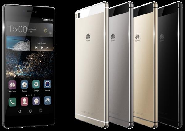 Le Huawei P8 est proposés en différents coloris très fashion