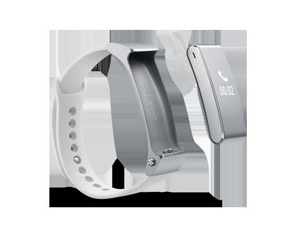 Le bracelet Talkband B2 peut aussi faire office d'oreillette Bluetooth