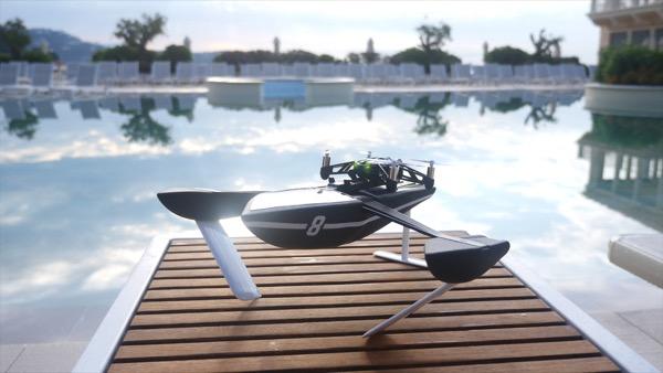 Après le ciel et la terre, les minidrones Parrot s'attaquent à l'eau, avec les Hydrofoil