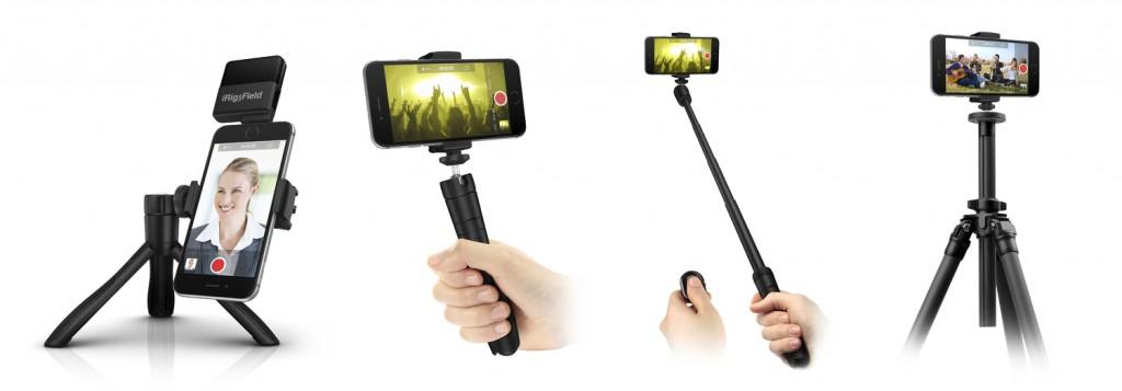 4 accessoires en 1, l'iKlip Grip s'avère fort pratique pour les itinérants