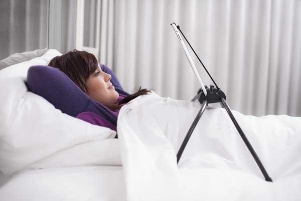 le Tablift peut être utilisé dans toutes les positions,<br>avec un usage particulièrement adapté à la position couchée