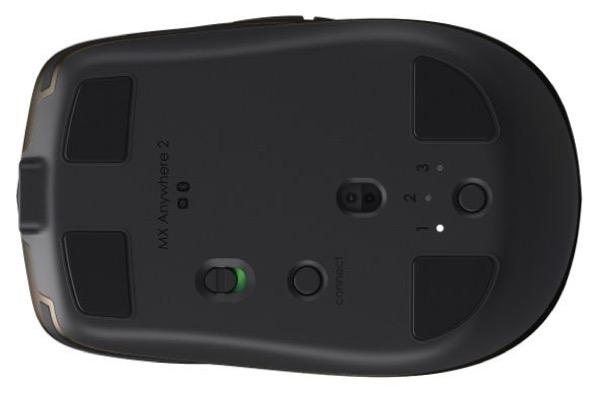 La MX Anywhere 2 peut être associée à 3 appareils en Bluetooth