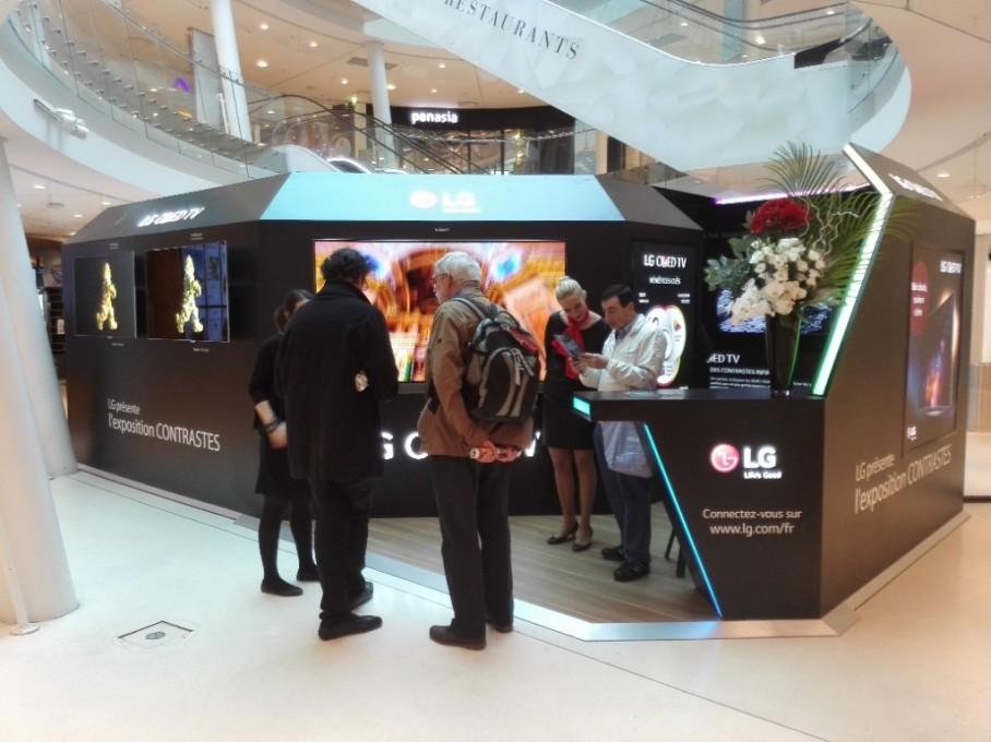 Tout savoir sur la technologie OLED par LG au CC Beaugrenelle de Paris 15°