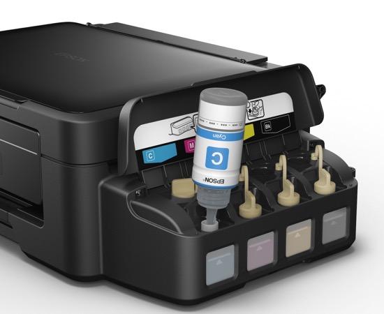 Fini les cartouches, bienvenue aux bouteilles d'encre avec les imprimantes Epson EcoTank