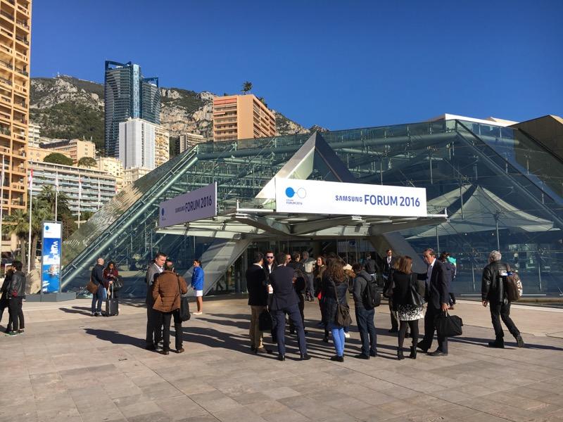 Le Forum 2016 de Samsung nous a accueilli par une belle journée ensoleillée