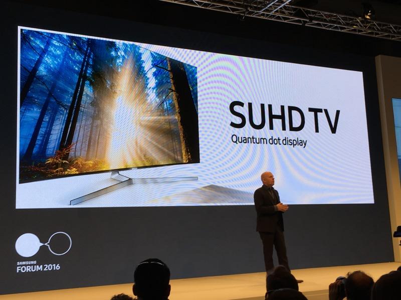 Une image encore améliorée avec le Quantum Dot pour la nouvelle gamme SUHD 2016