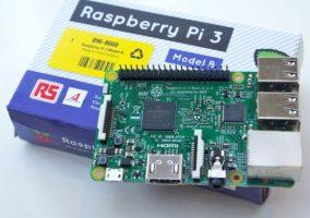 Le Raspberry Pi 3 est fabriqué et distribué par RS-Components