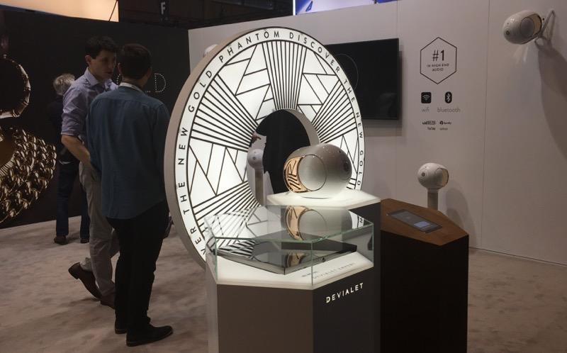 La Phantom Gold a été présentée en première mondiale au premier salon Viva Technology