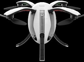 Le drone PowerEgg, comme son nom l'indique, a une forme ovoïde