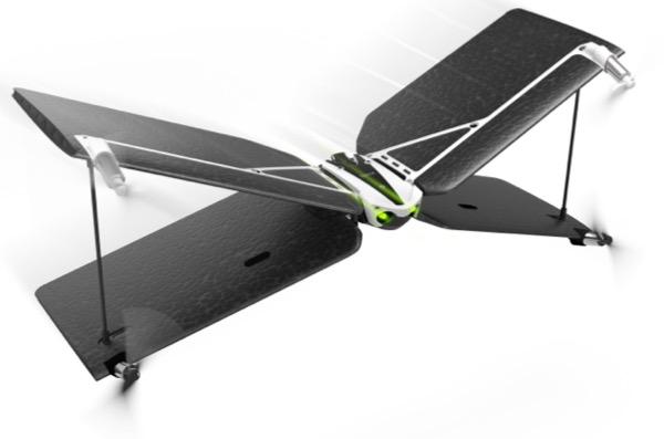 Le Parrot Swing est un drôle d'appareil, qui peut voler soit comme un drone, soit comme un avion