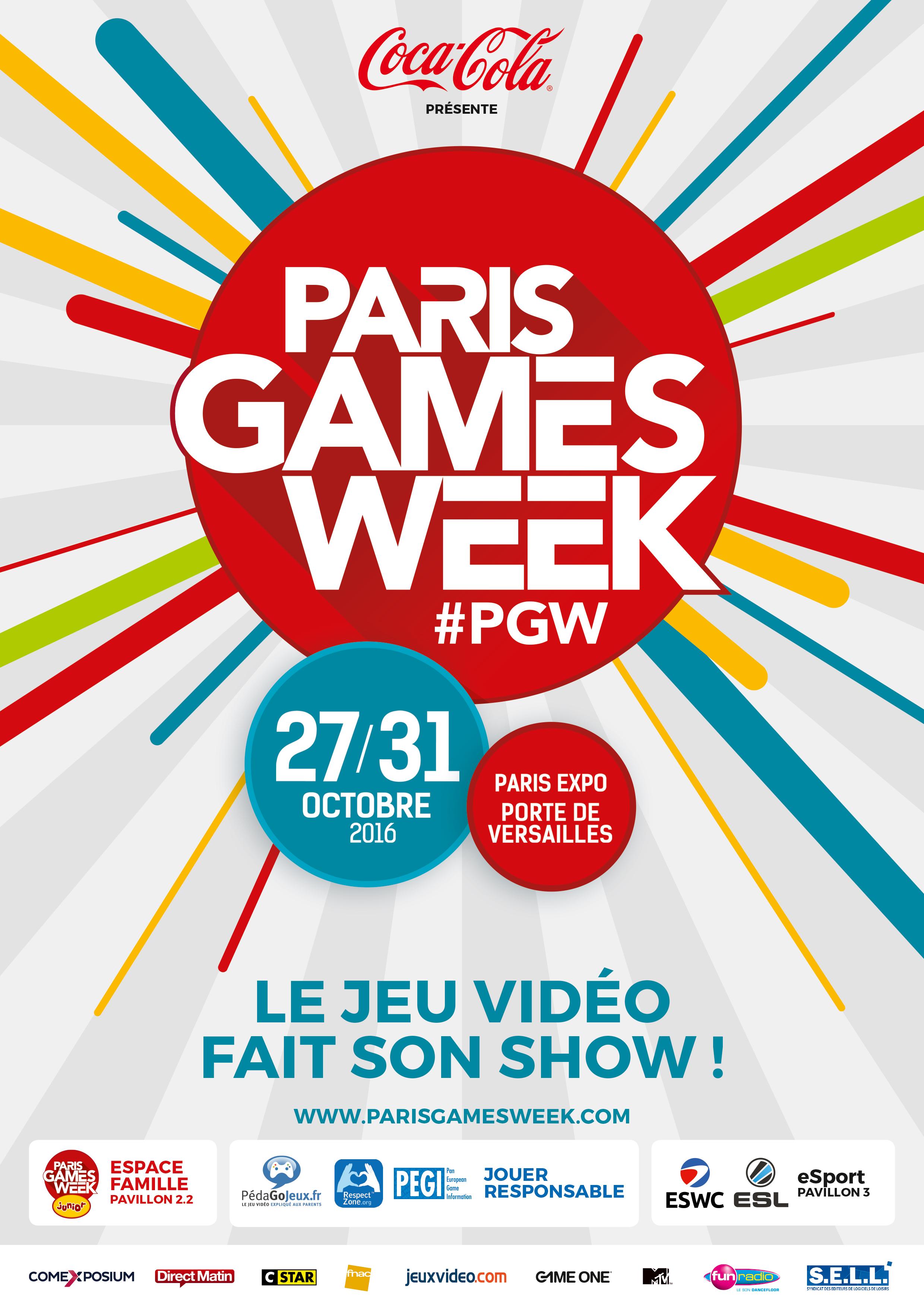 Paris Games Week, c''est 5 jours de découverte de jeux vidéo, mais aussi un peu de culture !