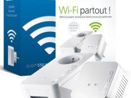 Le Devolo dLAN 550 WiFi Starter Kit CPL, une solution CPL+WiFi pratique à prix abordable